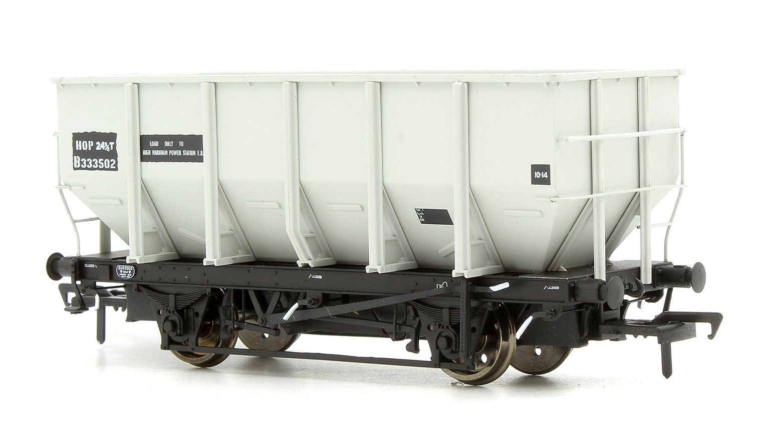 Set of 3 British Railways 24.5T HOP24/HUO Hopper Wagon Set B333500 B333501 & B333502