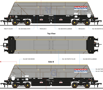 Cutdown HYA Wagon Twin Pack - NACCO