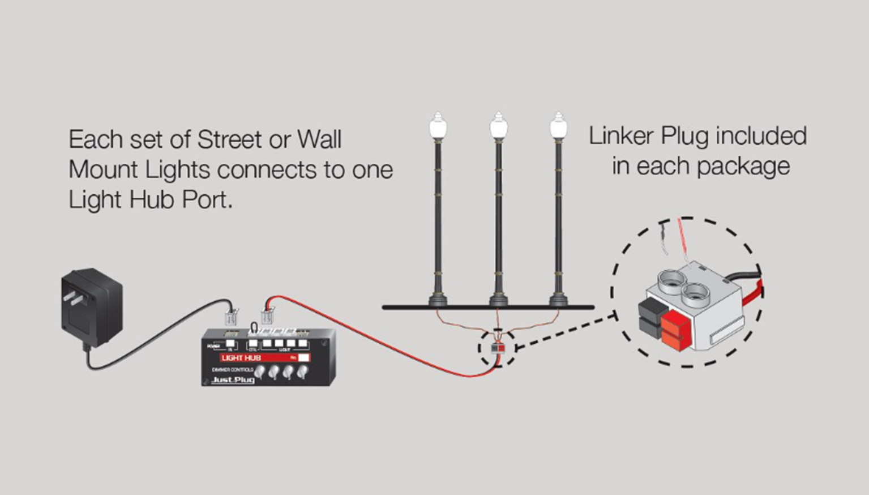 Lamp Post Street Lights - HO Scale