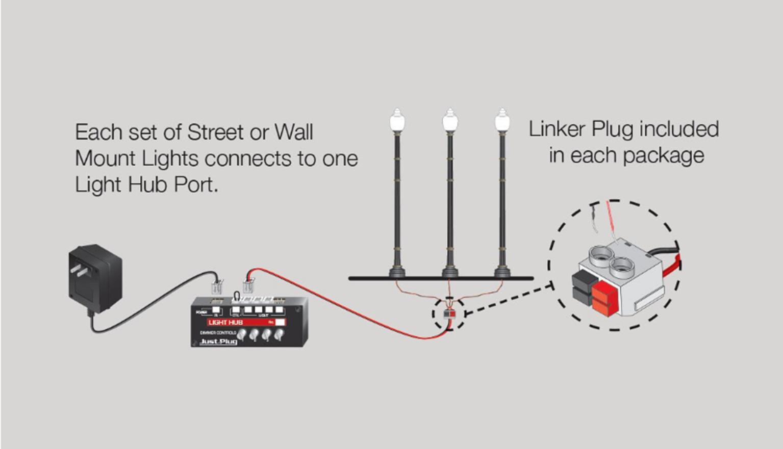 Lamp Post Street Lights - O Scale