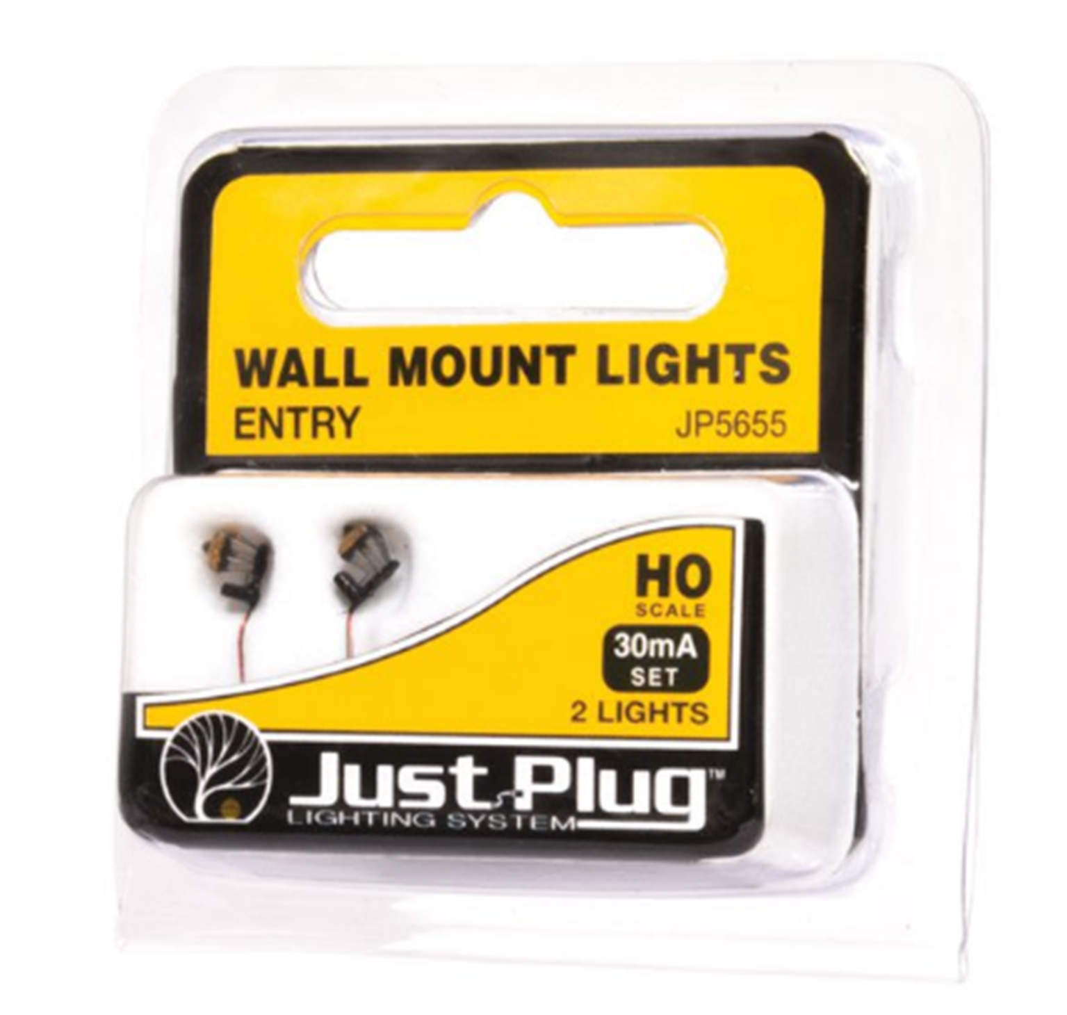Entry Wall Mount Lights - HO Scale