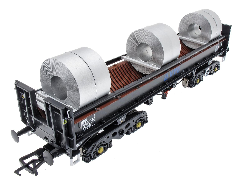 JSA Bogie Open Steel Wagon Twin Pack - VTG 3 - VTG 4126, VTG 4138