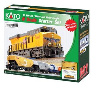 Union Pacific GE ESS44AC Freight Starter Train Set