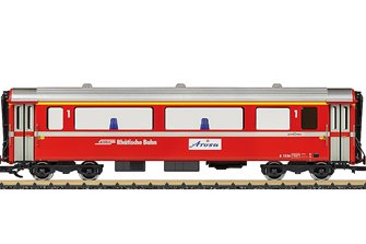 LGB RhB Passenger Car, No. A 1256