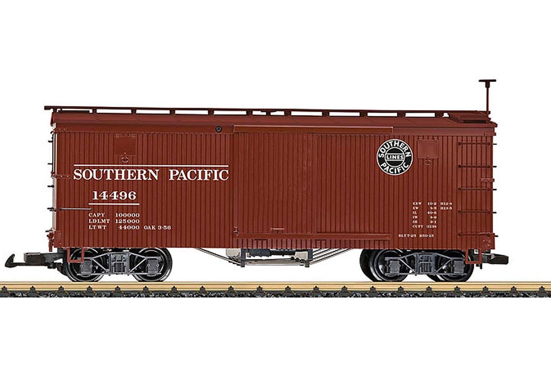 LGB Southern Pacific Box Wagon Version 1