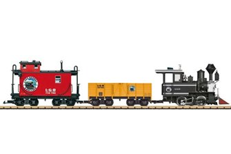 LGB Lake George + Freight Starter Set