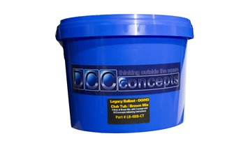 5 Litre Club Tub of 2mm/N scale Ballast. Brown Blend