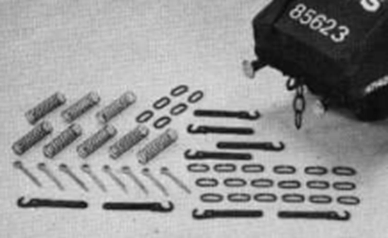 Smiths Standard 3 Link Coupling Kit Brass (8)