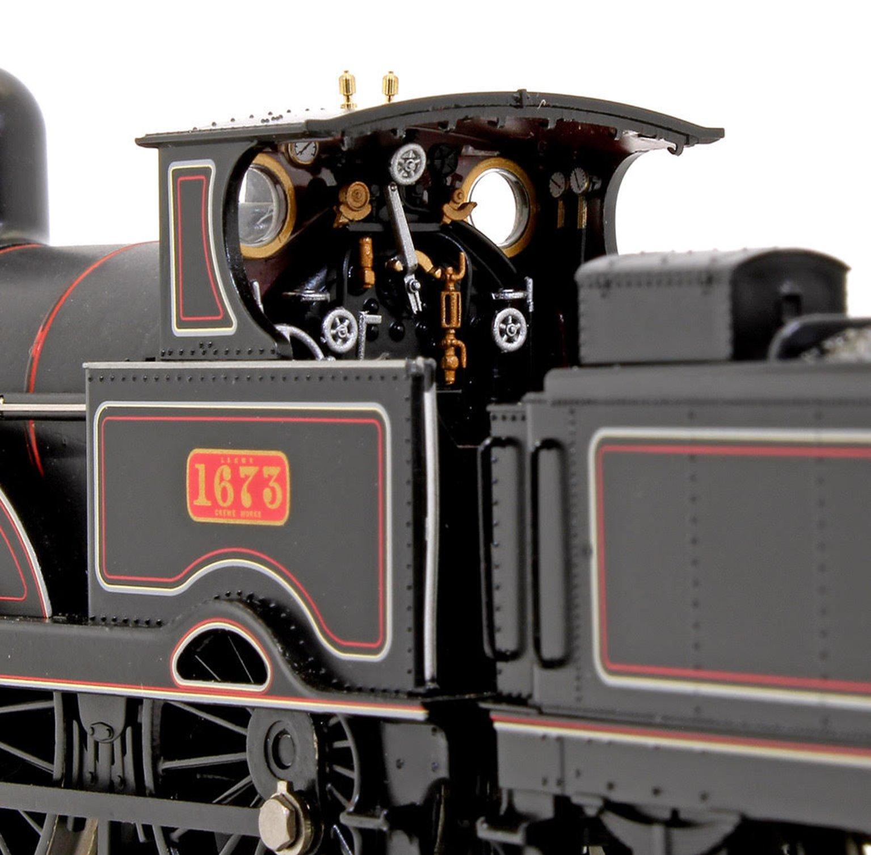 LNWR Improved Precedent Class 'Lucknow' LNWR Lined Black 2-4-0 Steam Locomotive No.1673