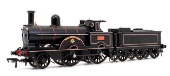 LNWR Improved Precedent Class 'Lucknow' LNWR Lined Black 2-4-0 Steam Locomotive No.1673