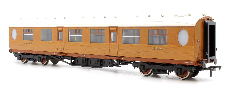 Thompson Composite Corridor LNER Teak