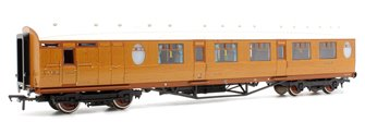 Thompson Composite Brake Coach LNER Teak