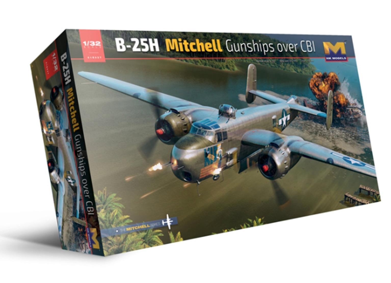 1:32 B-25H Mitchell Gunships Over CBI