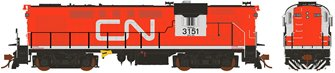 Canadian National Tempo RS-18 MR-18g Diesel Locomotive #3151 (DC Silent)