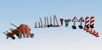 Road Building Accessory Set