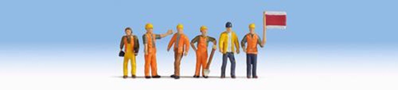 Railway Track Workers (6) Figure Set