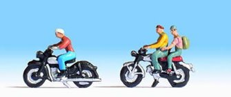 Motorcyclists (2) Figure Set