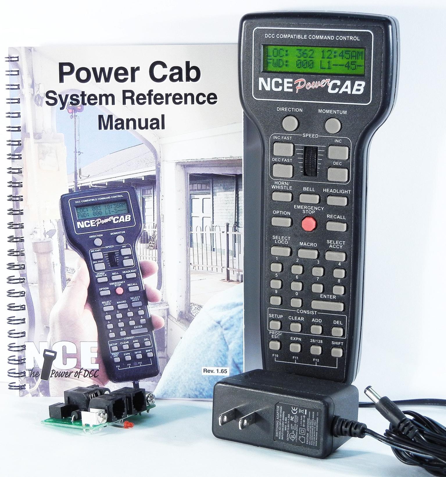 NCE Power Cab Starter Set (UK Power Supply)