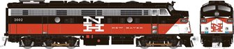 HO Scale Rebuilt FL9 - ConnDot (NH) No. 2019