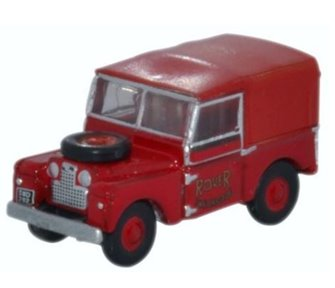 Oxford Diecast NLAN188010 Land Rover Series 1 Rover Fire Brigade