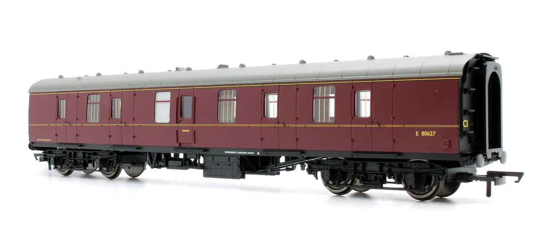 BR Mk1 Parcels Coach 'E80627', Maroon (no crest)