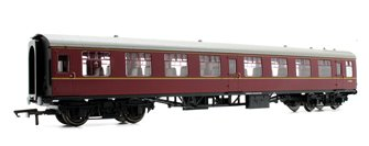 BR Mk1 Coach Tourist Second Open 'E4656', Maroon (no crest)