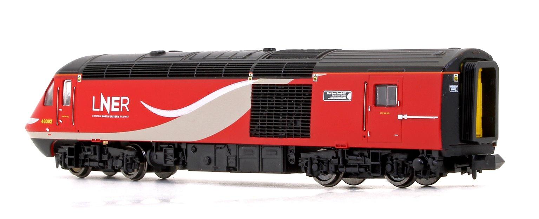 "Class 43 LNER HST Twin Pack - 43238 ""NRM 40"" 40th Anniversary LNER Power Car & 43302 ""World Speed Record - HST"" LNER Trailer Car"