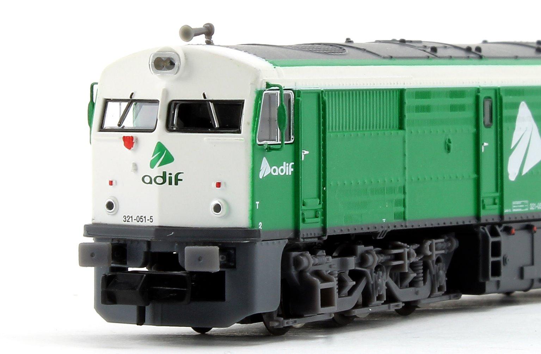 "Class 321.051 ""ADIF"" Green Diesel Locomotive (EP.VI)"