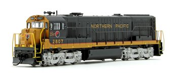 Northern Pacific GE U28C Diesel Locomotive #2807