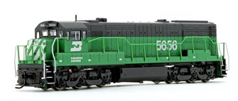 Burlington Northern GE U28C Diesel Locomotive No.5656