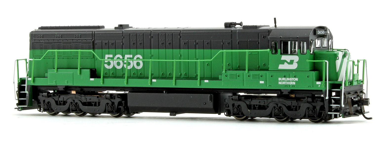 Burlington Northern GE U28C Diesel Locomotive No.5656
