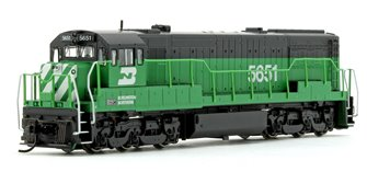 Burlington Northern GE U28C Diesel Locomotive No.5651