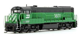 Burlington Northern GE U28C Diesel Locomotive No.5651