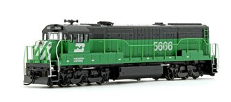 Burlington Northern GE U28C Diesel Locomotive No.5666