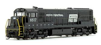 Penn Central GE U25C Diesel Locomotive No.6517