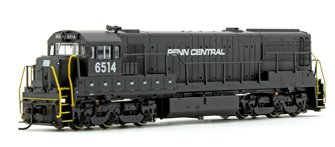 Penn Central GE U25C Diesel Locomotive No.6514