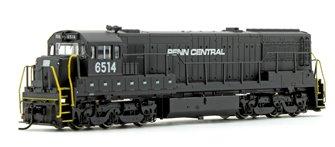 Penn Central GE U25C Diesel Locomotive No.6514