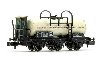 HOLZVERKOHLUNGS-INDUSTRIE AG BADSTB 6 Wheel Tank Wagon