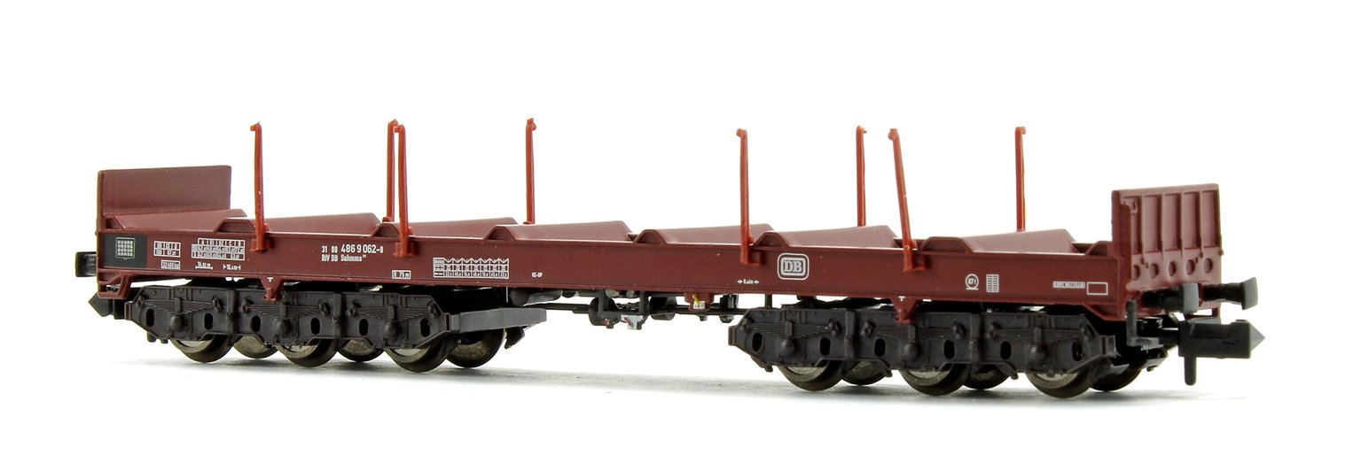 DP Steel Transport Wagon with Stanchions (EP.IV/V)