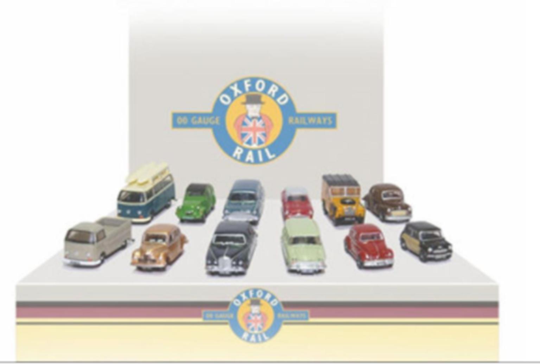 Carflat Car Pack 1960s Cars (4)