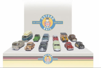 Carflat Car Pack 1960s Cars (4)