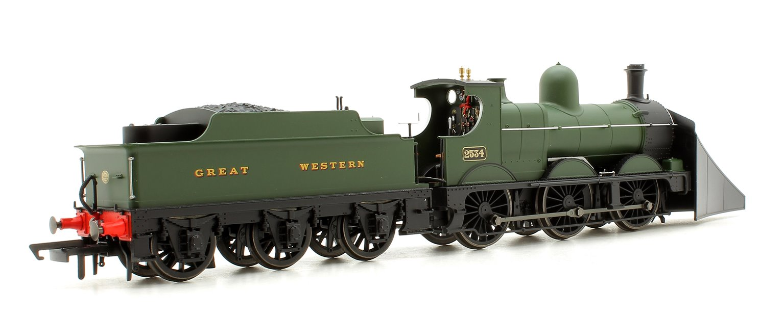 GWR Dean Goods 2534 with Snow Plough