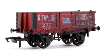 4 Plank Mineral Wagon - R.Taylor & Sons Ltd Weathered