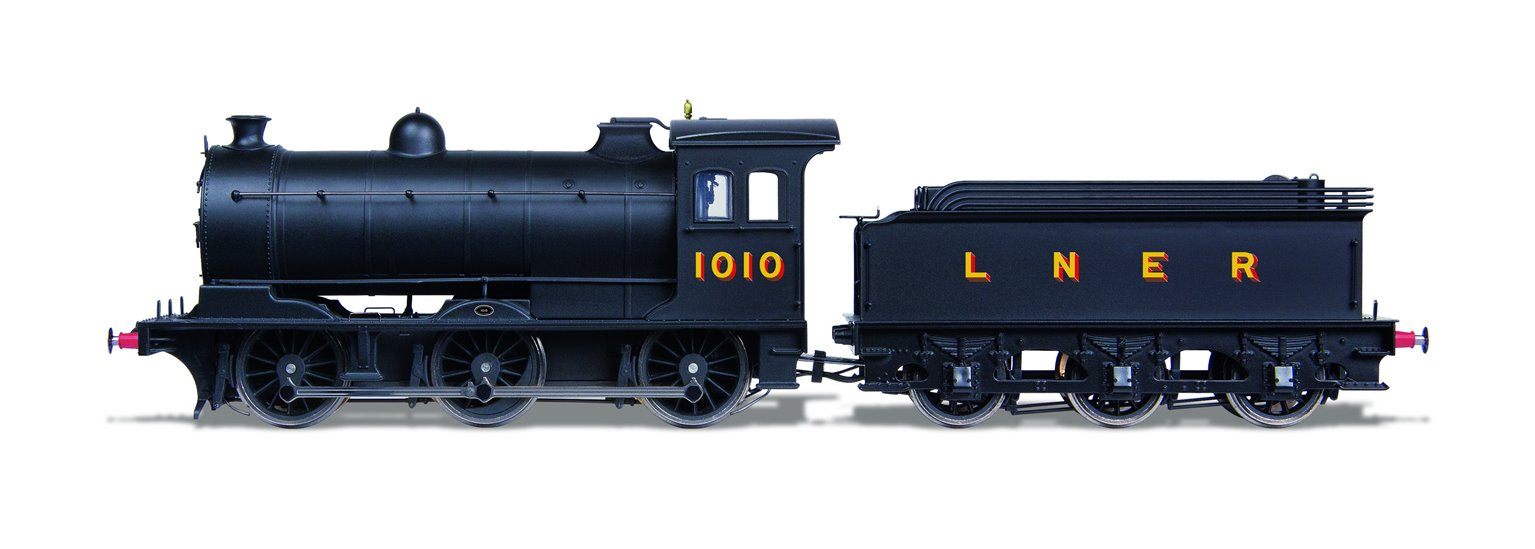 Class J27 LNER Black 0-6-0 Steam Locomotive No.1010