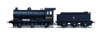 Class J27 BR Black (Early) 0-6-0 Steam Locomotive No.65837 DCC SOUND