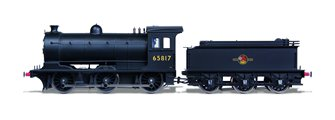 Class J27 BR Black (Late) 0-6-0 Steam Locomotive No.65817 DCC SOUND
