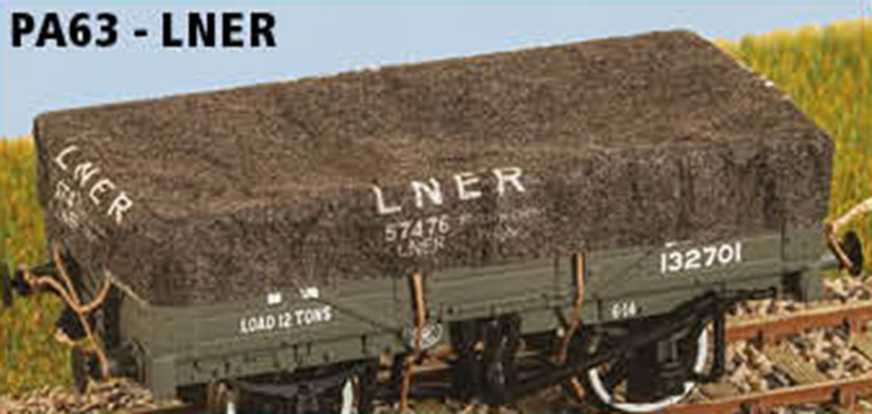 Parkside Dundas PA63 LNER 8 Wagons Tarps
