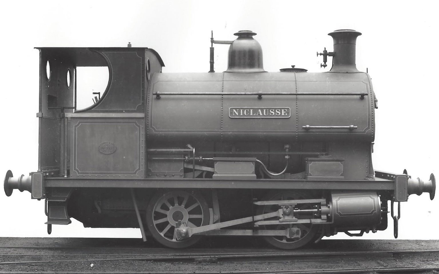 Peckett Willians and Robinson No. 882/1902 NICLAUSSE 0-4-0ST