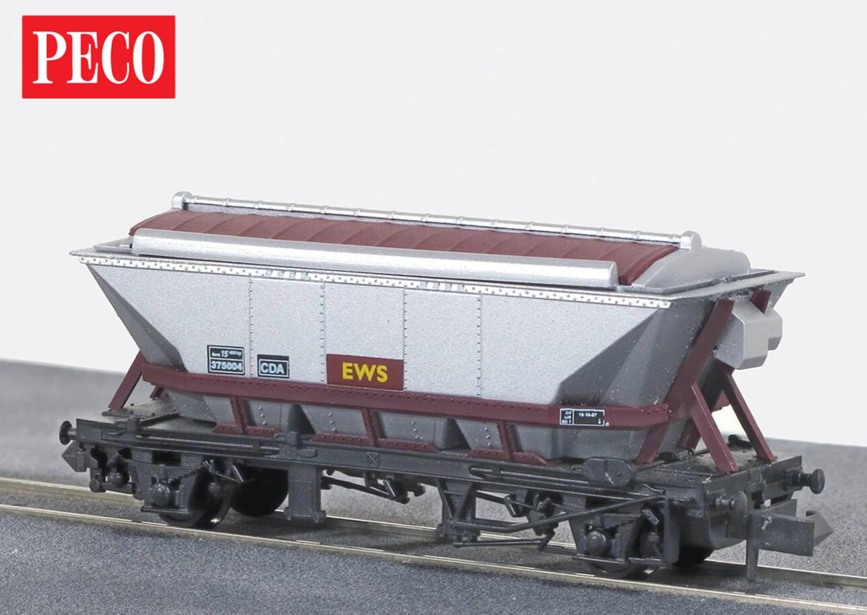 NR306 EWS Maroon 'CDA' China Clay Hopper Wagon