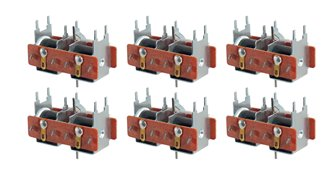 Pack of 6 PL10 Point Motor (Switch Machine)